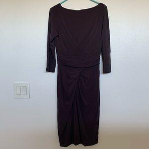 MaxMara Italian Long Sleeve Dress